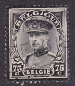 Belgium Michel 376--ISMERETLEN--1DB--Eleje.