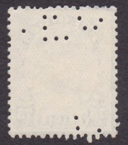 Belgium Michel 376--ISMERETLEN--1DB--Hátulja.
