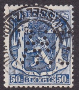 Belgium Michel 422--E.W.--1DB--Eleje.