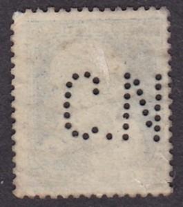 Belgium Michel 55--C.N--1DB--Hátulja.