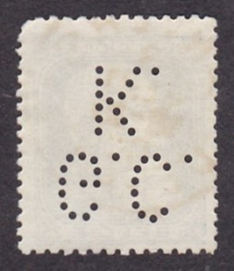 Belgium Michel 73--G.C.K.--1DB--Hátulja.