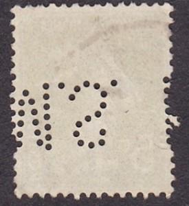 Francia Michel 116--M.S.--1DB--Hátulja.